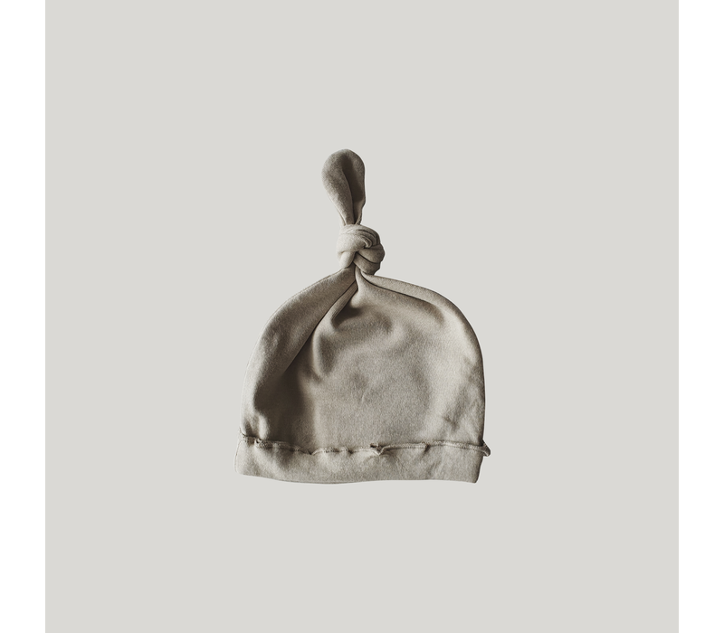 Knotted hat - Pebble