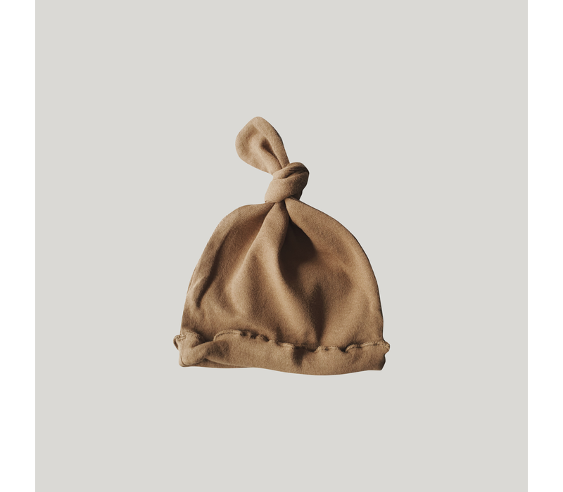Knotted hat - Taupe