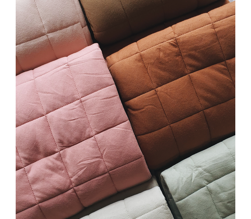 Quilted organic playmat - Pebble