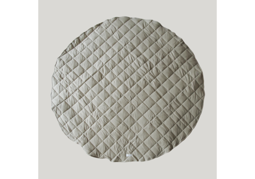 SUSUKOSHI Quilted organic playmat - Pebble