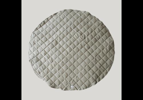 SUSUKOSHI Tapis de jeu matelassé coton bio  - Pebble