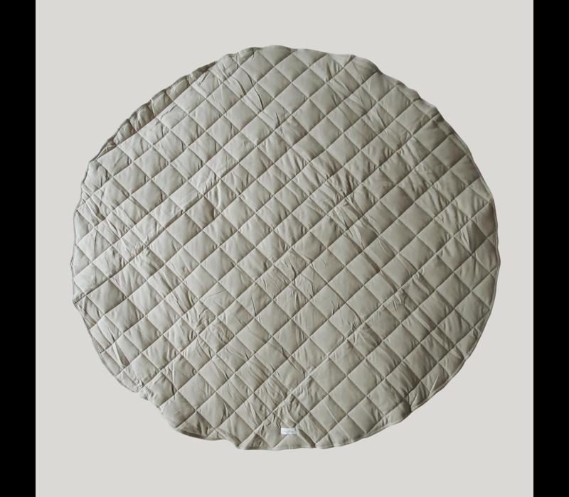 Tapis de jeu matelassé coton bio  - Pebble