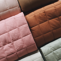 Quilted organic playmat - Tan