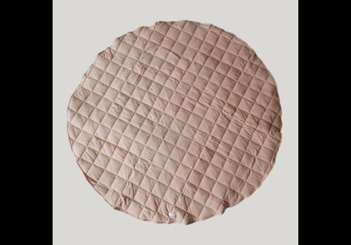 SUSUKOSHI Tapis de jeu matelassé coton bio  - Tan