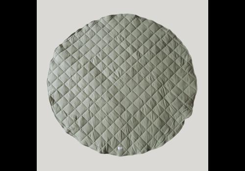 SUSUKOSHI Quilted organic playmat - Sage
