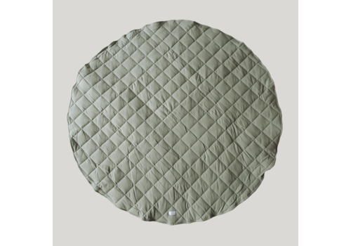 SUSUKOSHI Tapis de jeu matelassé coton bio  - Sage