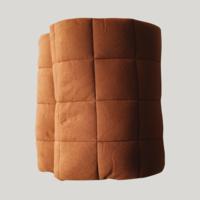 Quilted organic playmat - Caramel