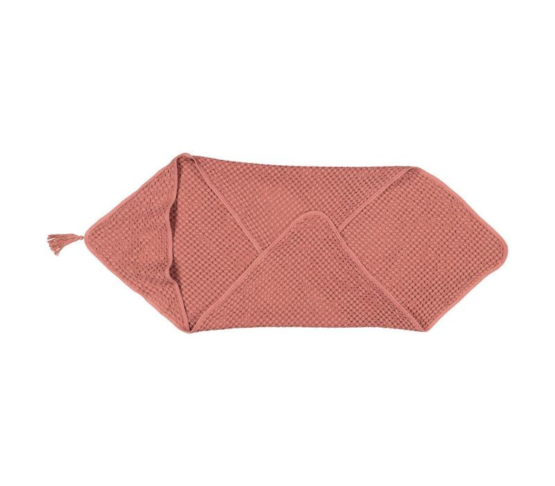 Serviette avec capuchon - Terracotta