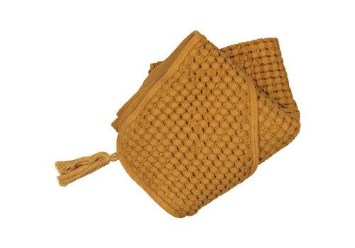MOUMOUT PARIS Hooded towel - Mustard