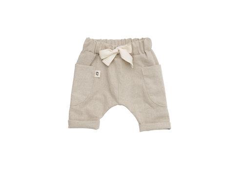 LITTLE YOGI Pantalons - Desert linen