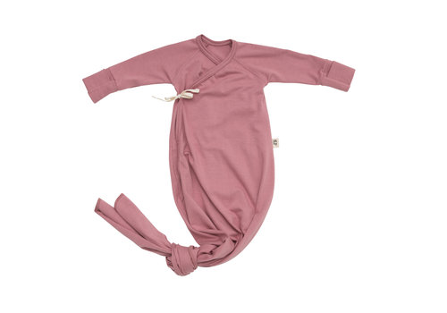 LITTLE YOGI Dusty rose gown