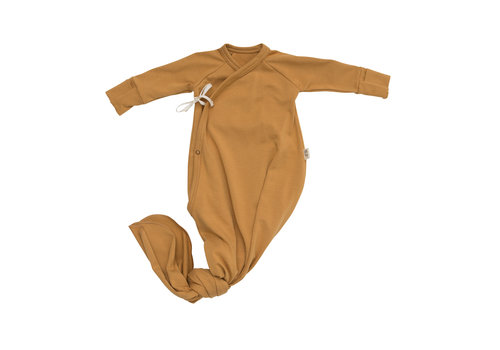 LITTLE YOGI Caramel gown