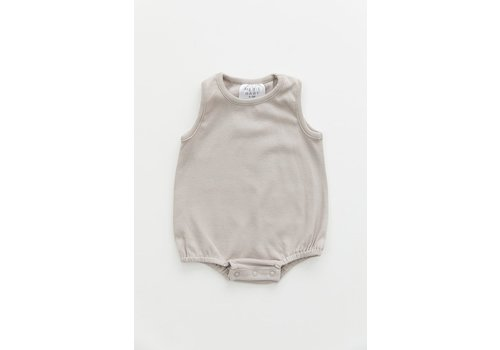MEBIE BABY Ash cotton bubble romper