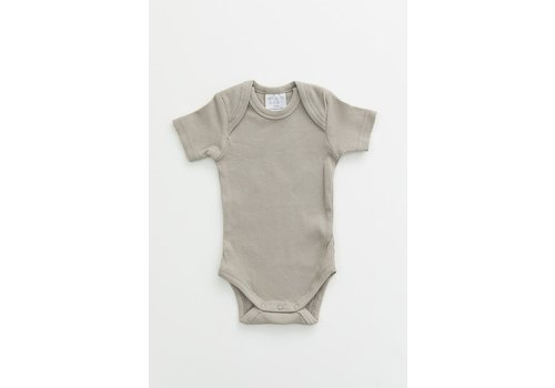 MEBIE BABY Sagebrush organic cotton ribbed bodysuit