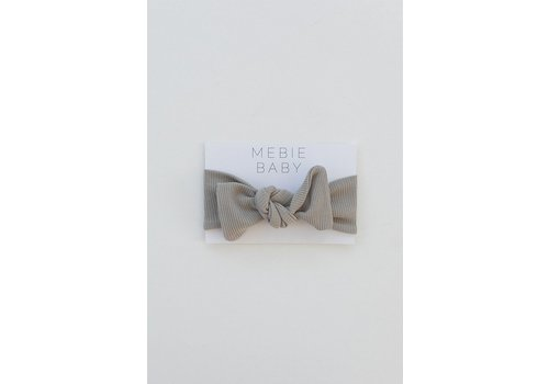 MEBIE BABY Ribbed sagebrush headband