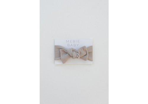 MEBIE BABY Ribbed oatmeal headband