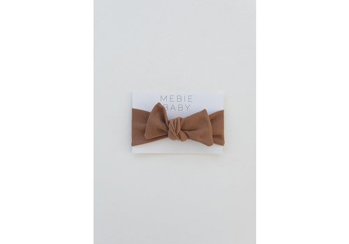 MEBIE BABY Bandeau côtelé - Honey