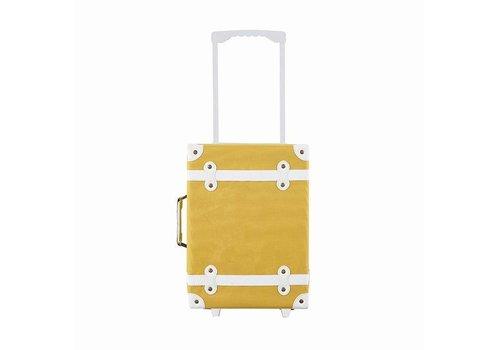OLLI ELLA See-Ya suitcase - Mustard / PRE-ORDER