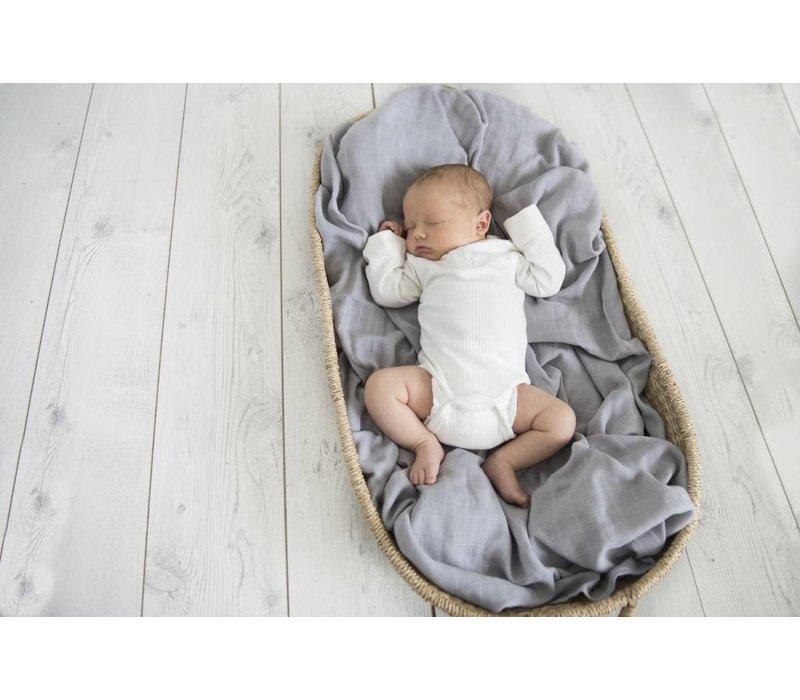 Organic muslin blanket - Storm