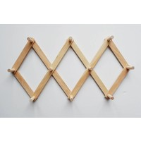 Wooden peg rack - Large
