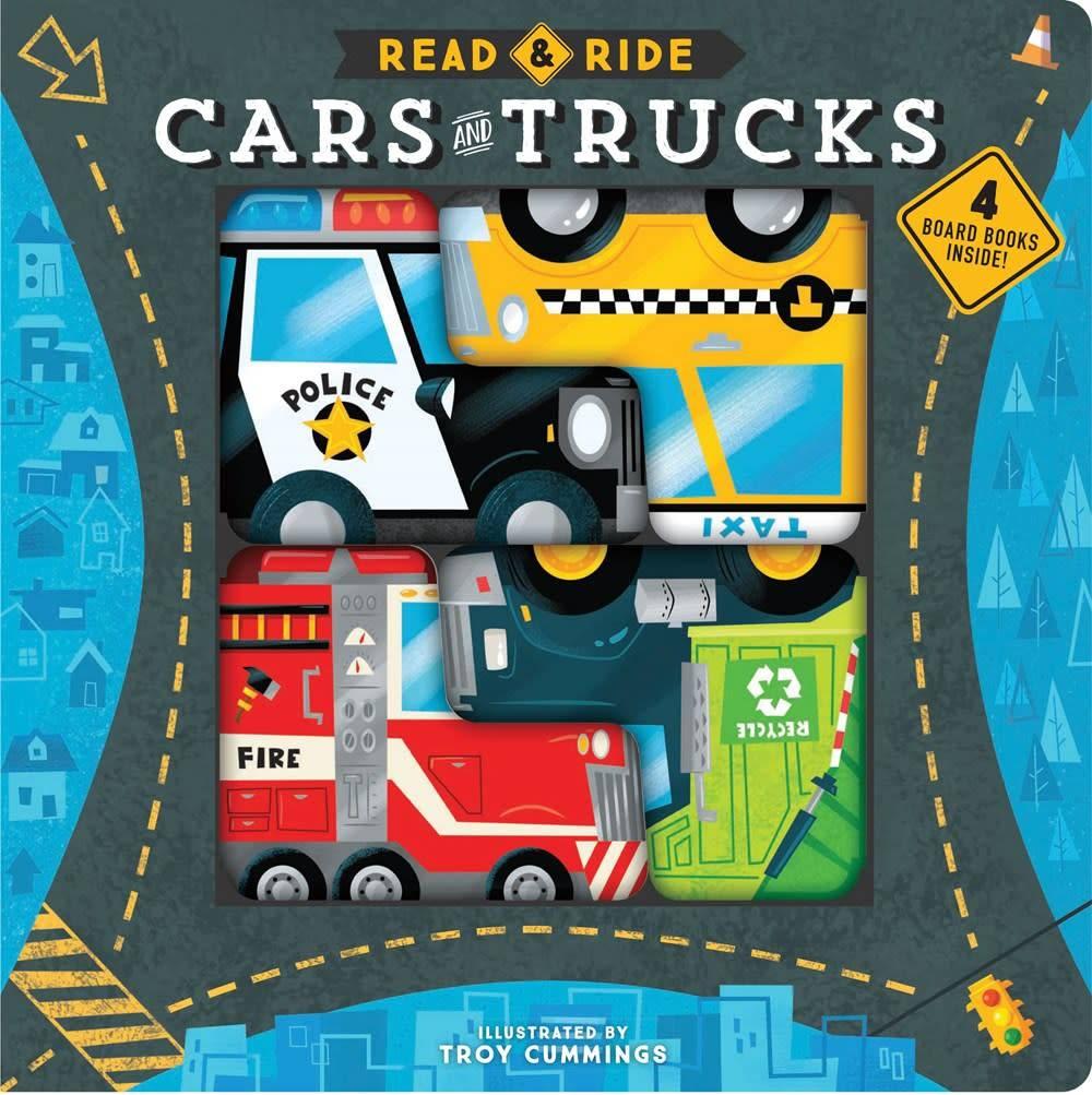 Chronicle Books Read & Ride: Cars & Trucks