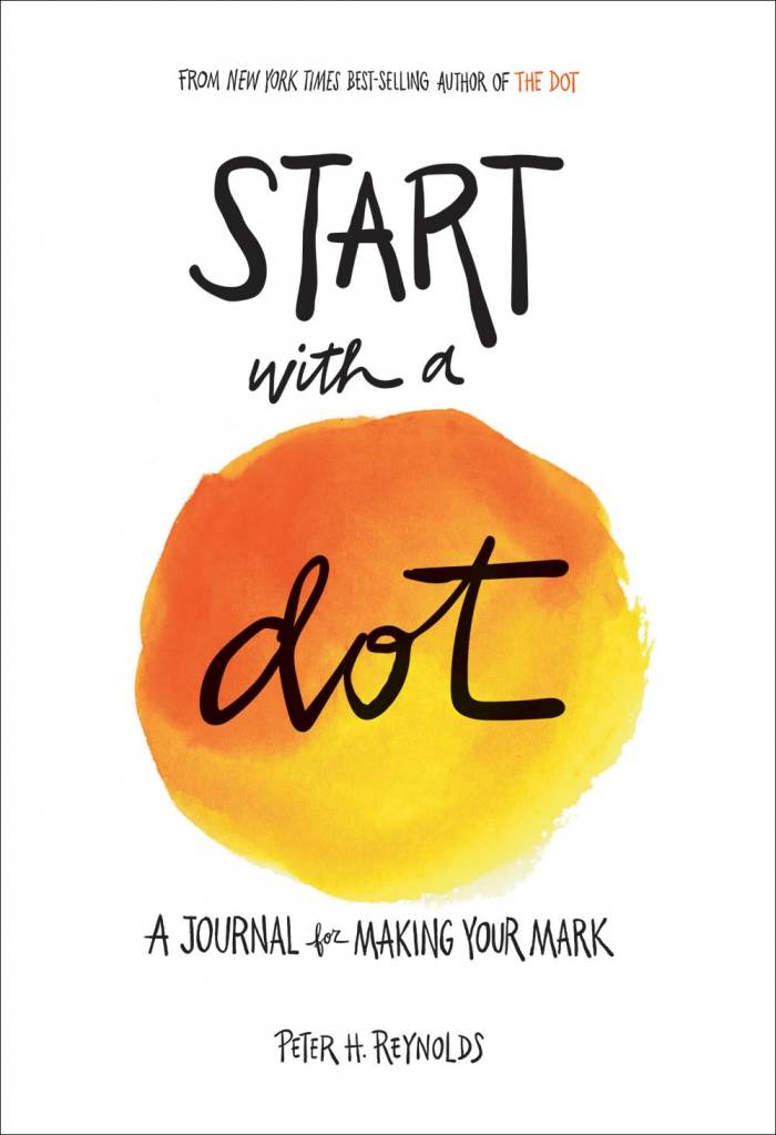 Abrams Noterie Just Start: Start with a Dot (Guided Journal)