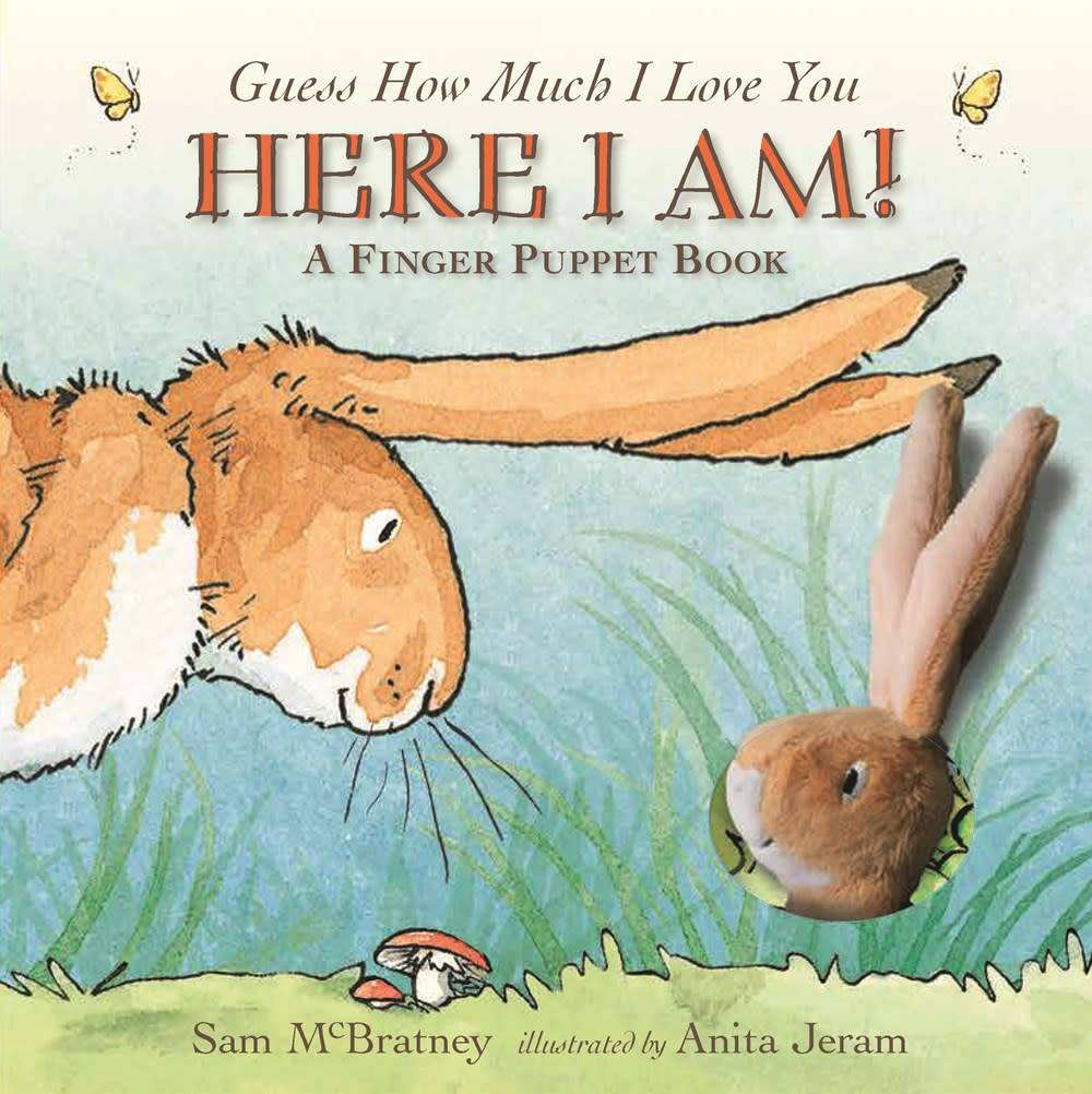 Candlewick Guess How Much I Love You: Here I Am! (Finger Puppet Book)