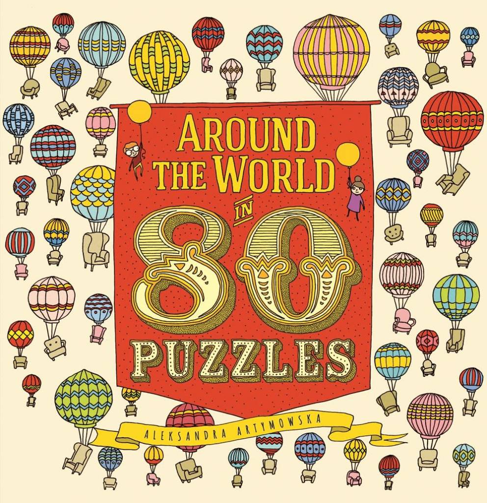 Big Picture Press Around the World in 80 Puzzles