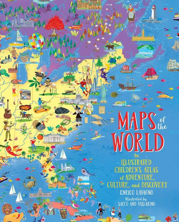 Black Dog & Leventhal Maps of the World
