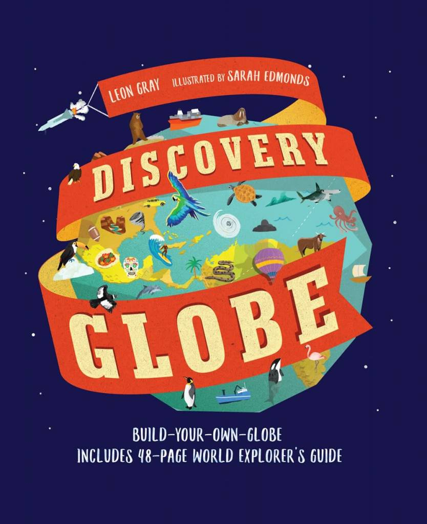 Candlewick Discovery Globe: Build-Your-Own Globe Kit