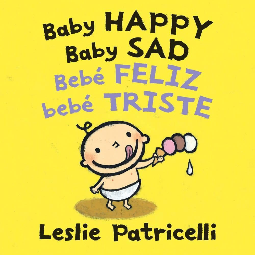 Candlewick Baby Happy Baby Sad/Bebè feliz bebè triste