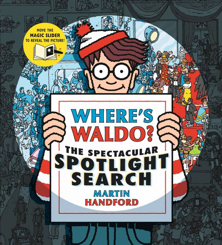 Candlewick Where's Waldo? The Spectacular Spotlight Search