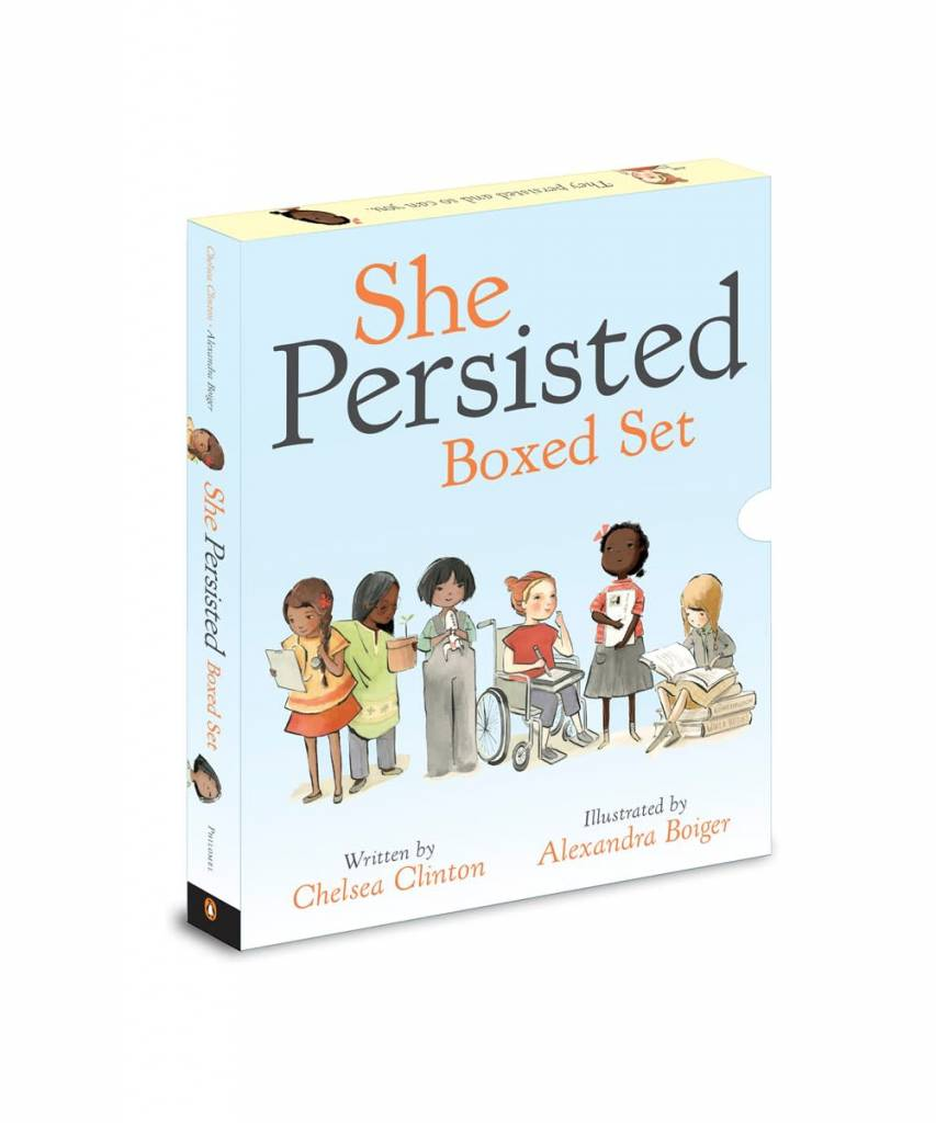 Philomel Books She Persisted Boxed Set (2 Books)