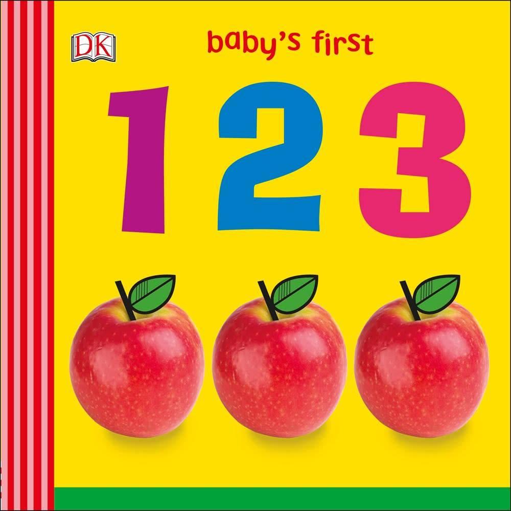 DK Children DK Baby's First: 123 (Board Book)