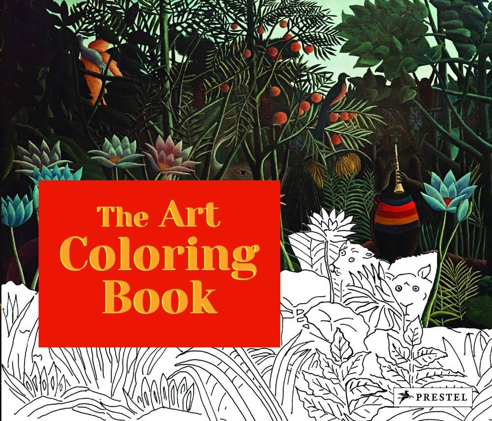 Prestel Junior The Art Coloring Book