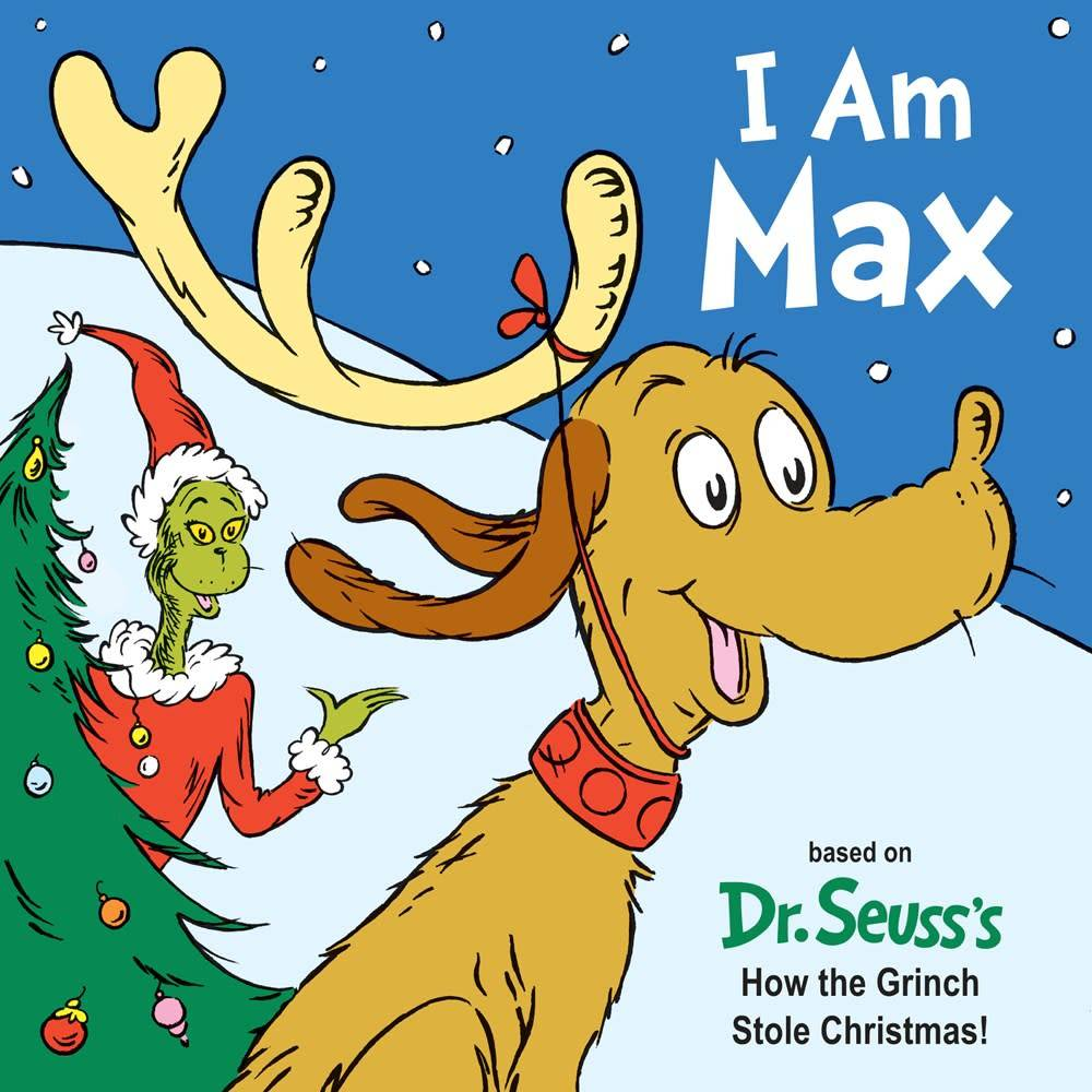 Dr Seuss The Grinch Who Stole Christmas Poem.The Grinch I Am Max