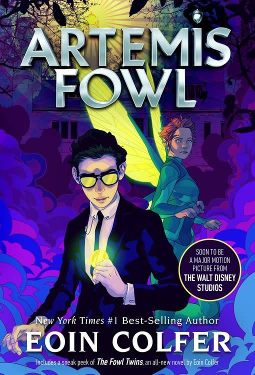 Disney-Hyperion Artemis Fowl 01 (New Cover and Short Story)