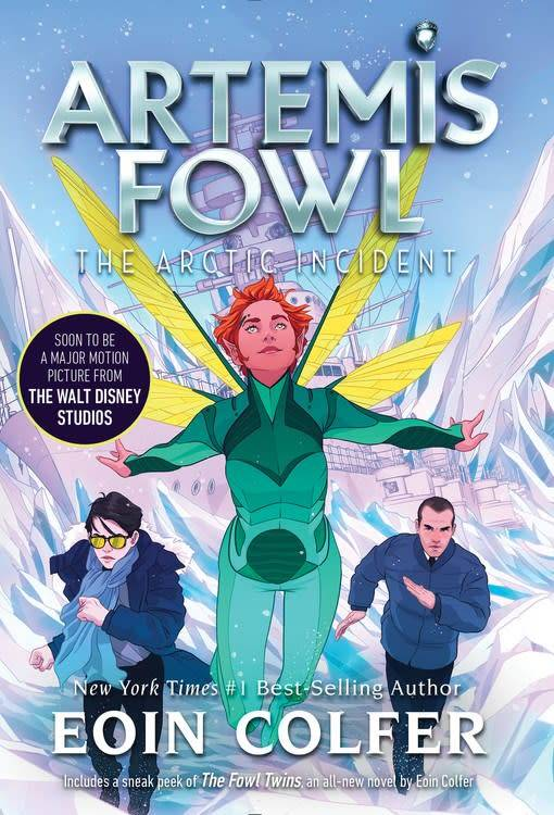 Disney-Hyperion Artemis Fowl 02 The Arctic Incident (New Cover)