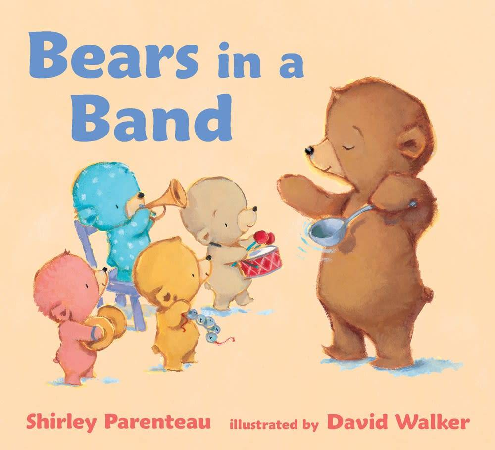 Candlewick Bears in a Band