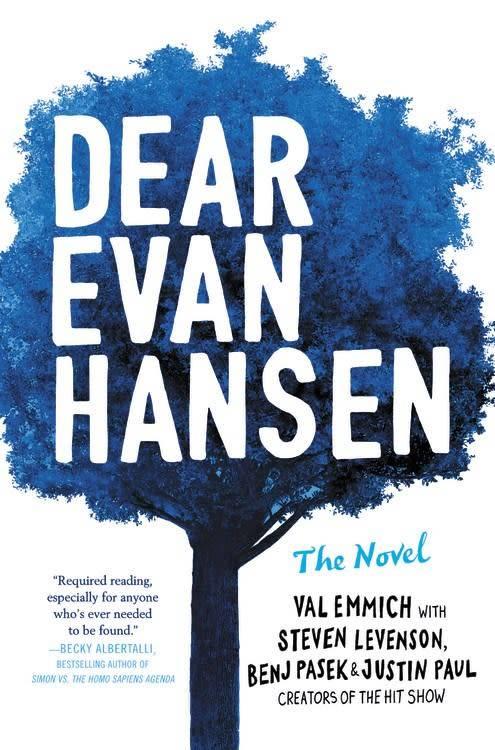 Poppy Dear Evan Hansen: The Novel