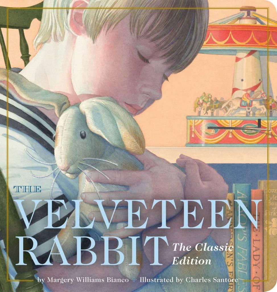 Applesauce Press The Velveteen Rabbit Oversized Padded Board Book