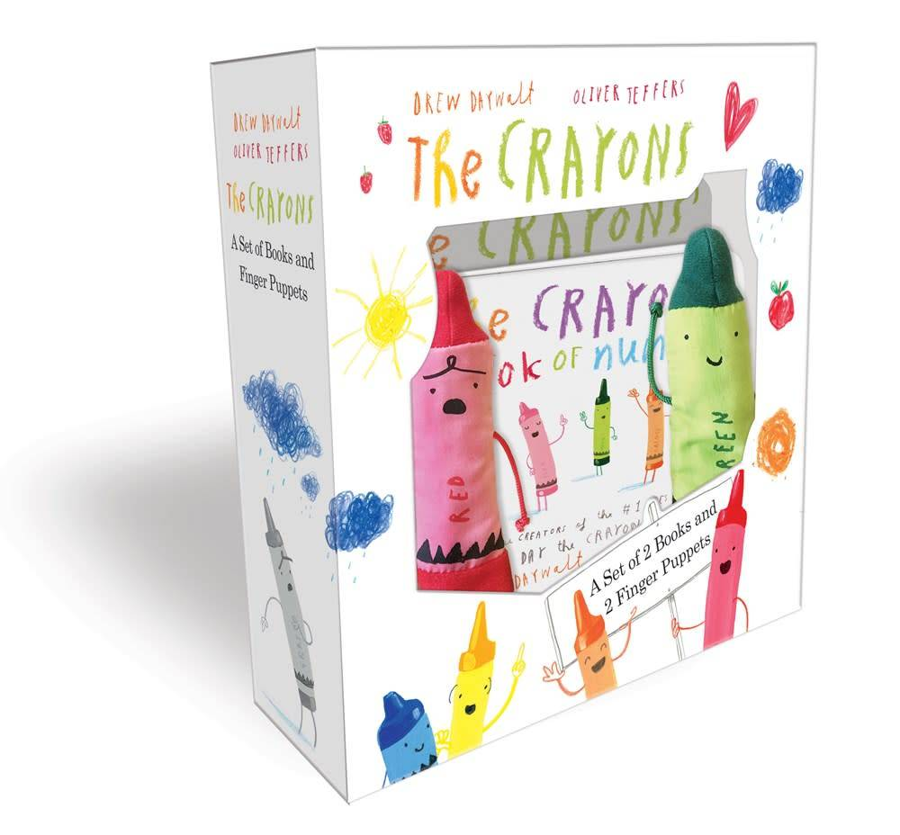 Grosset & Dunlap The Crayons: A Set of Books and Finger Puppets