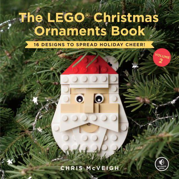 No Starch Press The LEGO Christmas Ornaments Book #2