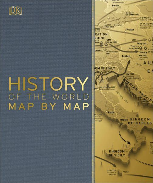 DK Smithsonian: History of the World Map by Map