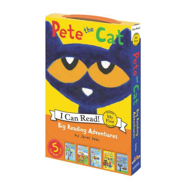 HarperCollins Pete the Cat: Big Reading Adventures