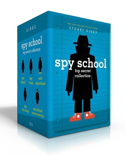 Simon & Schuster Books for Young Readers Spy School Top Secret Collection Boxed Set (5 Books)