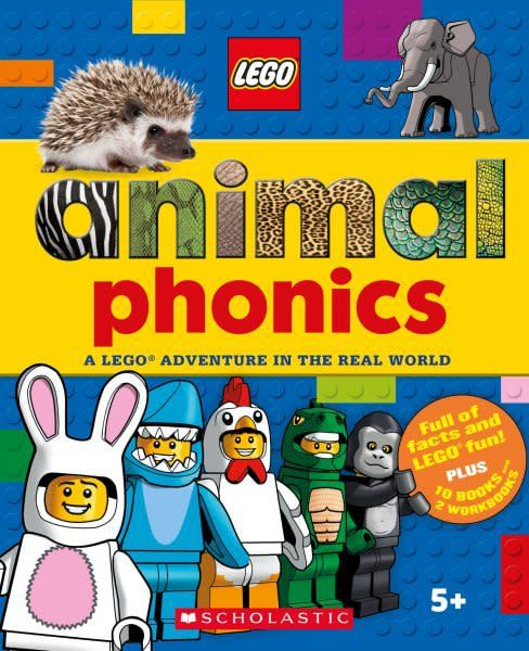 Scholastic Inc. Animals Phonics Box Set (LEGO Nonfiction)