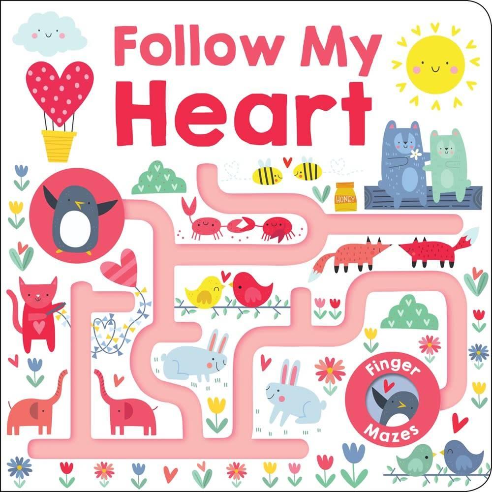 Priddy Books Maze Book: Follow My Heart