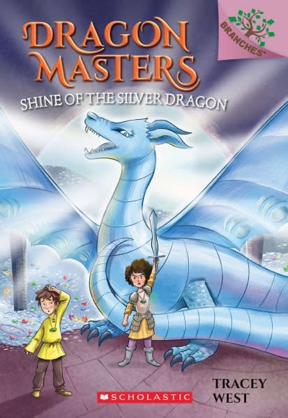 Scholastic Inc. Dragon Masters 11 Shine of the Silver Dragon