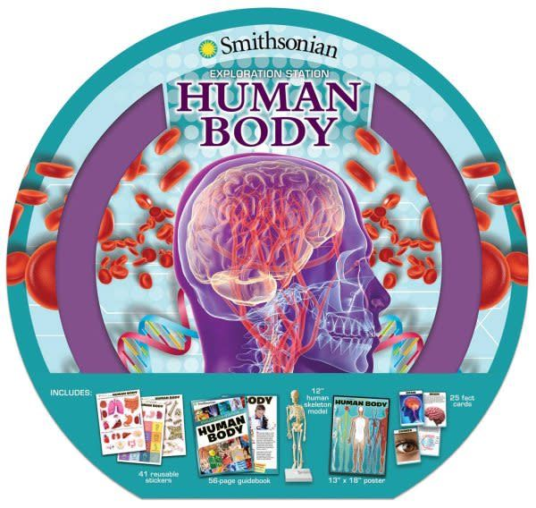 Silver Dolphin Books Smithsonian Exploration Station: Human Body